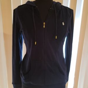 NWT new Ralph Lauren terry cloth jacket Hoodie